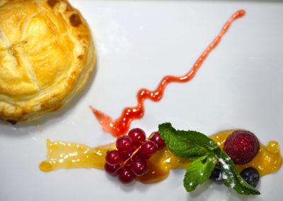 Dessert : feuilleté