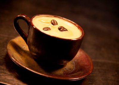 * Café glacé à l'amaretto